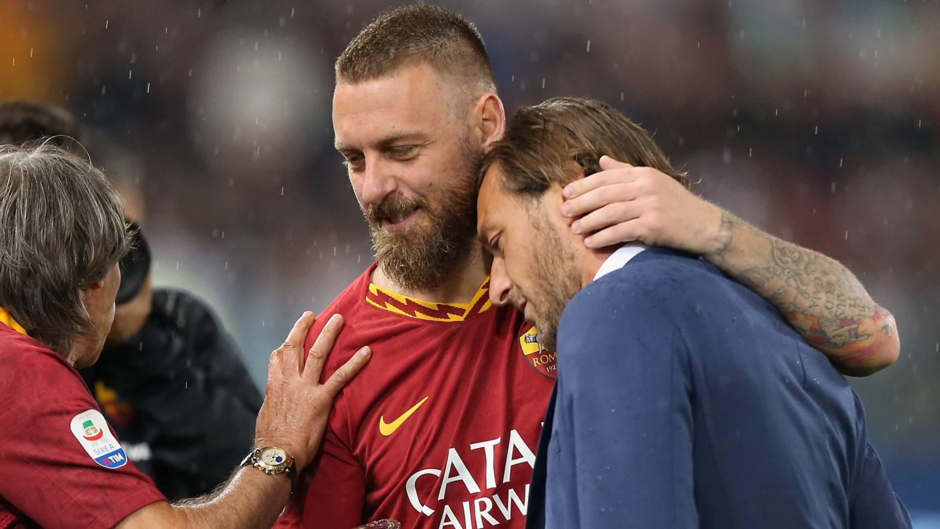 Sorpresa Roma, c'è anche Totti in tribuna all'Olimpico
