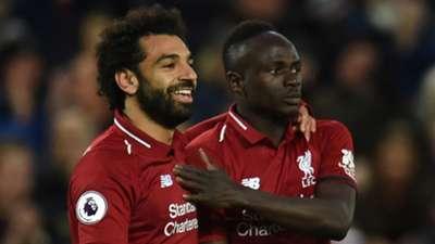 Mohamed Salah Sadio Mane Liverpool 2019-20