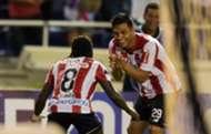 Teófilo Gutiérrez & Yimmi Chará Junior de Barranquilla vs Cerro Porteño Copa Sudamericana