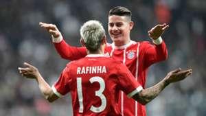 Rafinha James Rodriguez Bayern Munich