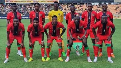 Malawi squad vs Tanzania.