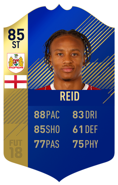 FIFA 18 EFL Team of the Season Reid