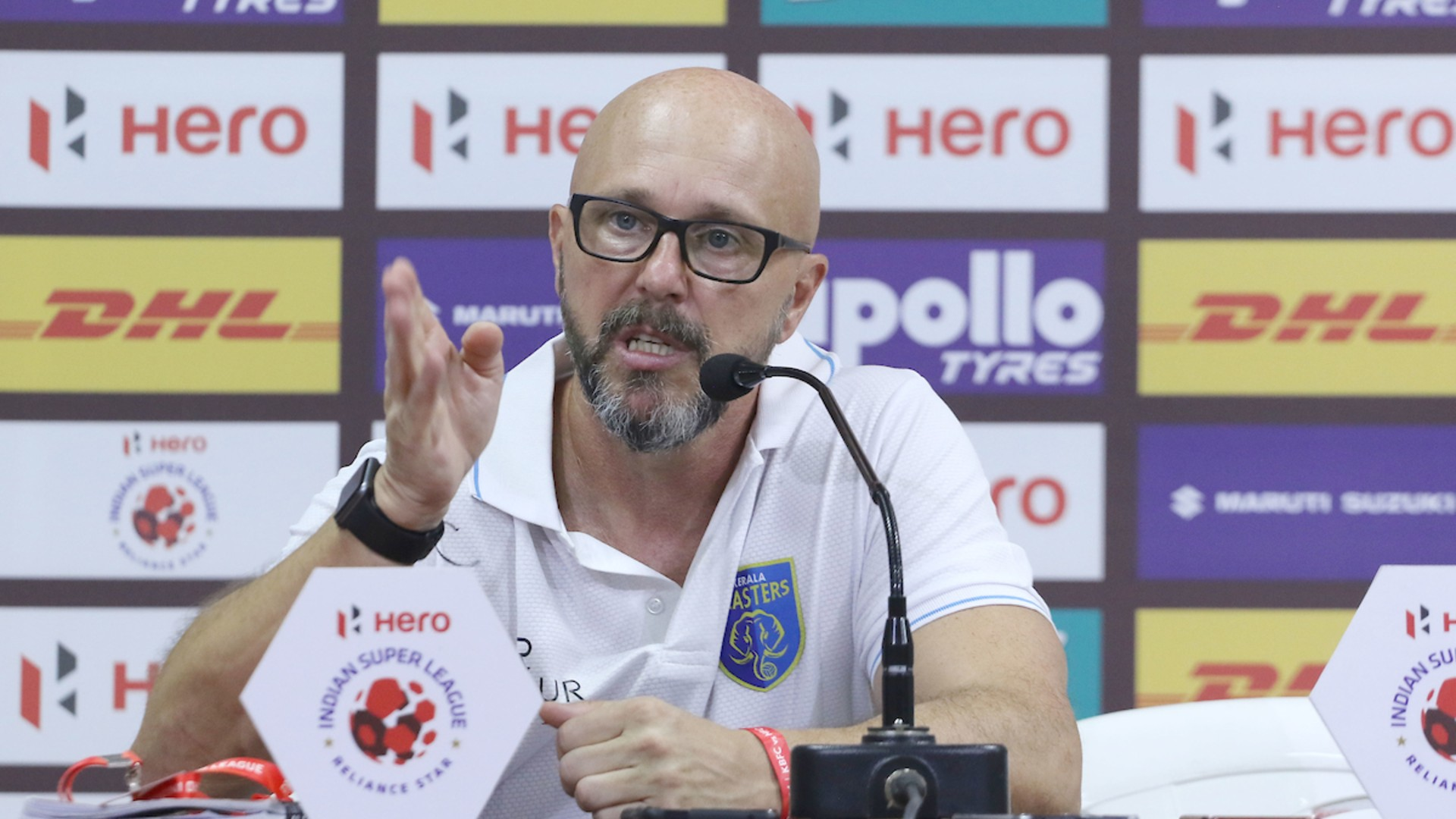 Kerala Blasters' Eelco Schattorie - 'I know exactly what ATK's weaknesses are'
