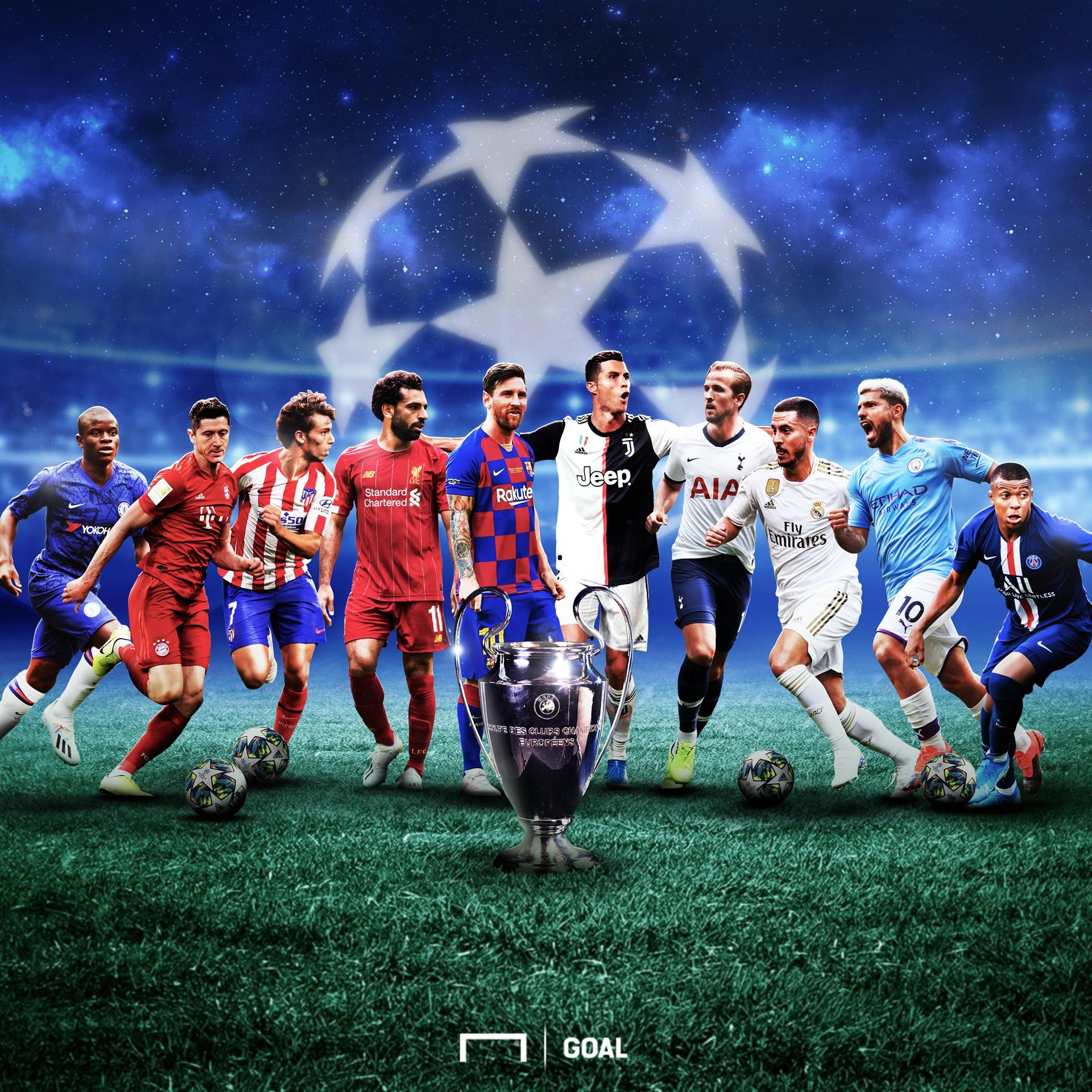 Champions League graphic