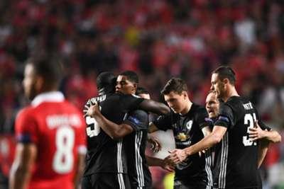 Marcus Rashford Benfica Manchester United