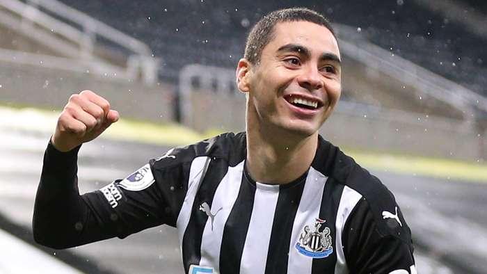 Miguel Almiron Newcastle 2020-21