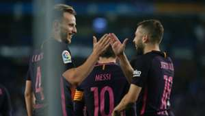 Ivan Rakitic Jordi Alba Espanyol Barcelona LaLiga 29042017