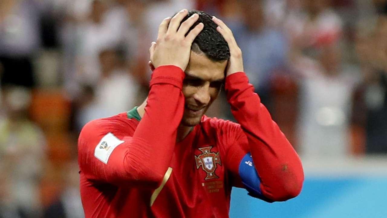 Cristiano Ronaldo Portugal Iran World Cup 250618