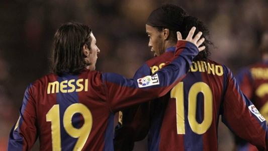 Ronaldinho: 'Messi chẳng cần học hỏi gì từ tôi khi ở Barcelona' | Goal.com