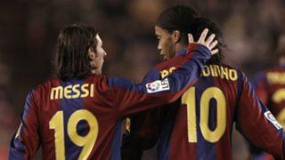 Ronaldinho Messi Barcelona