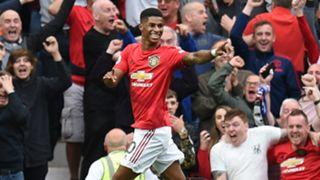 Marcus Rashford Manchester United vs Chelsea 2019-20