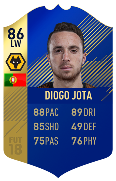 FIFA 18 EFL Team of the Season Jota