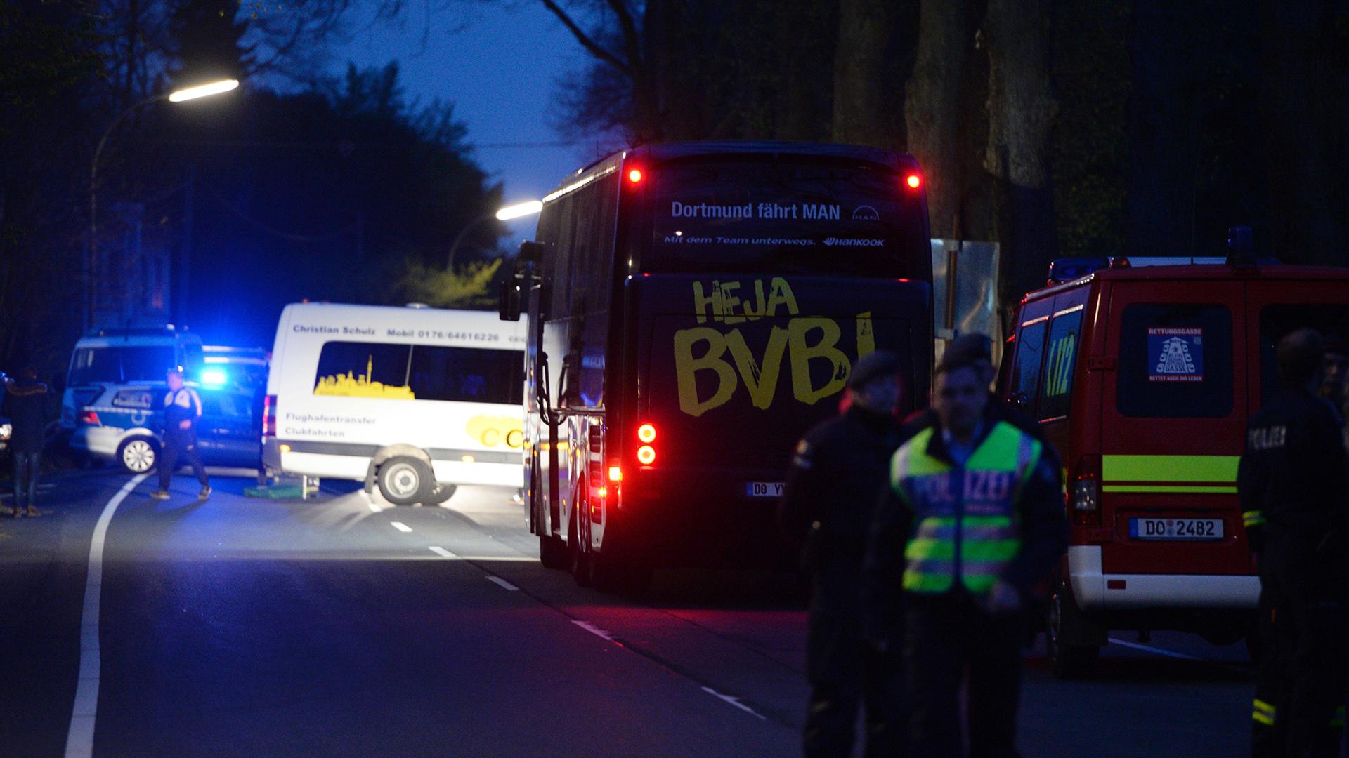 Borussia Dortmund bus incident