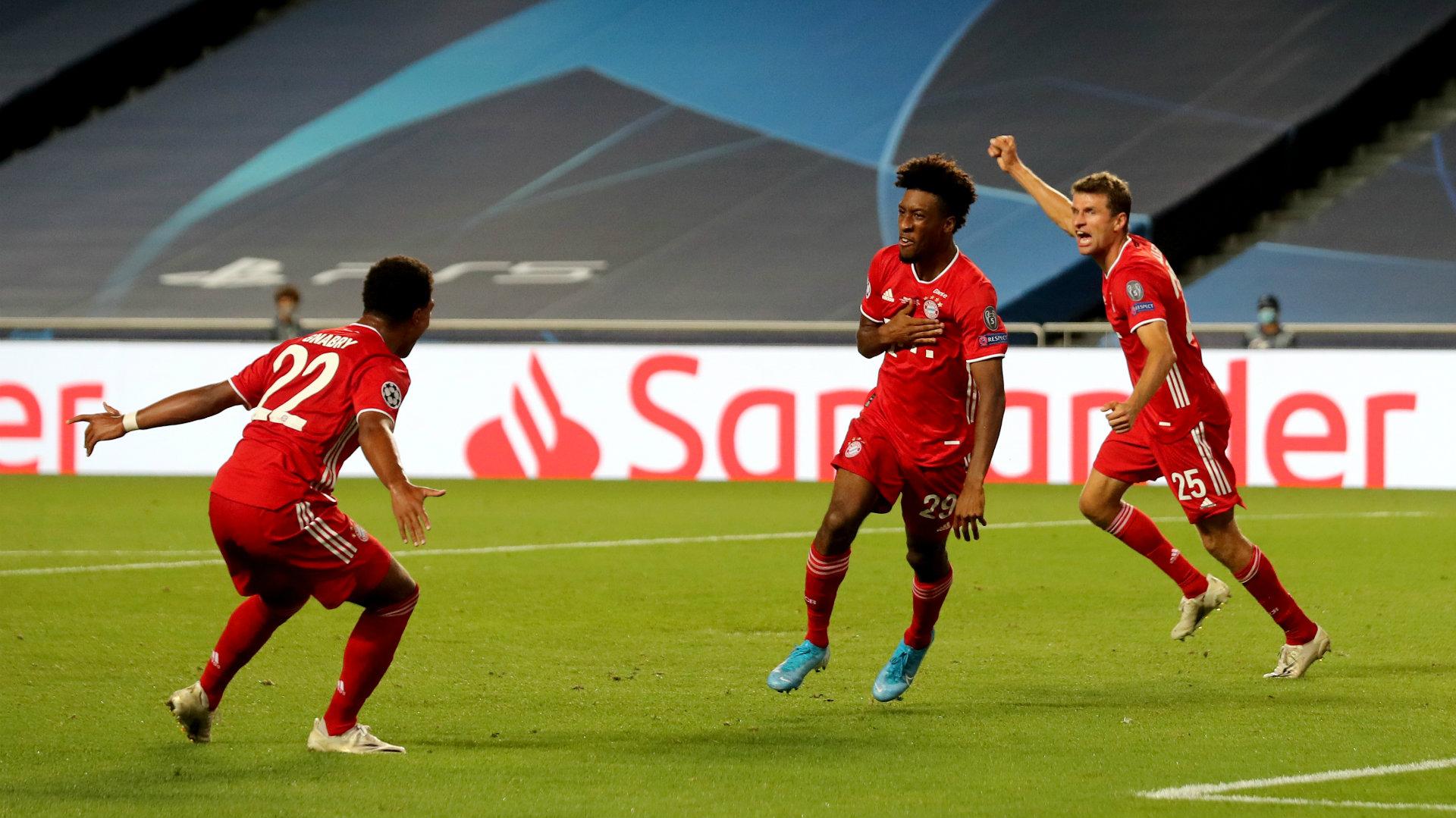 Coman makes history by notching Bayern Munich's 500th ...