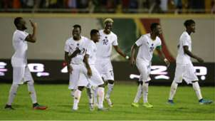 Ghana players at the 2019 Wafu Cup of Nations