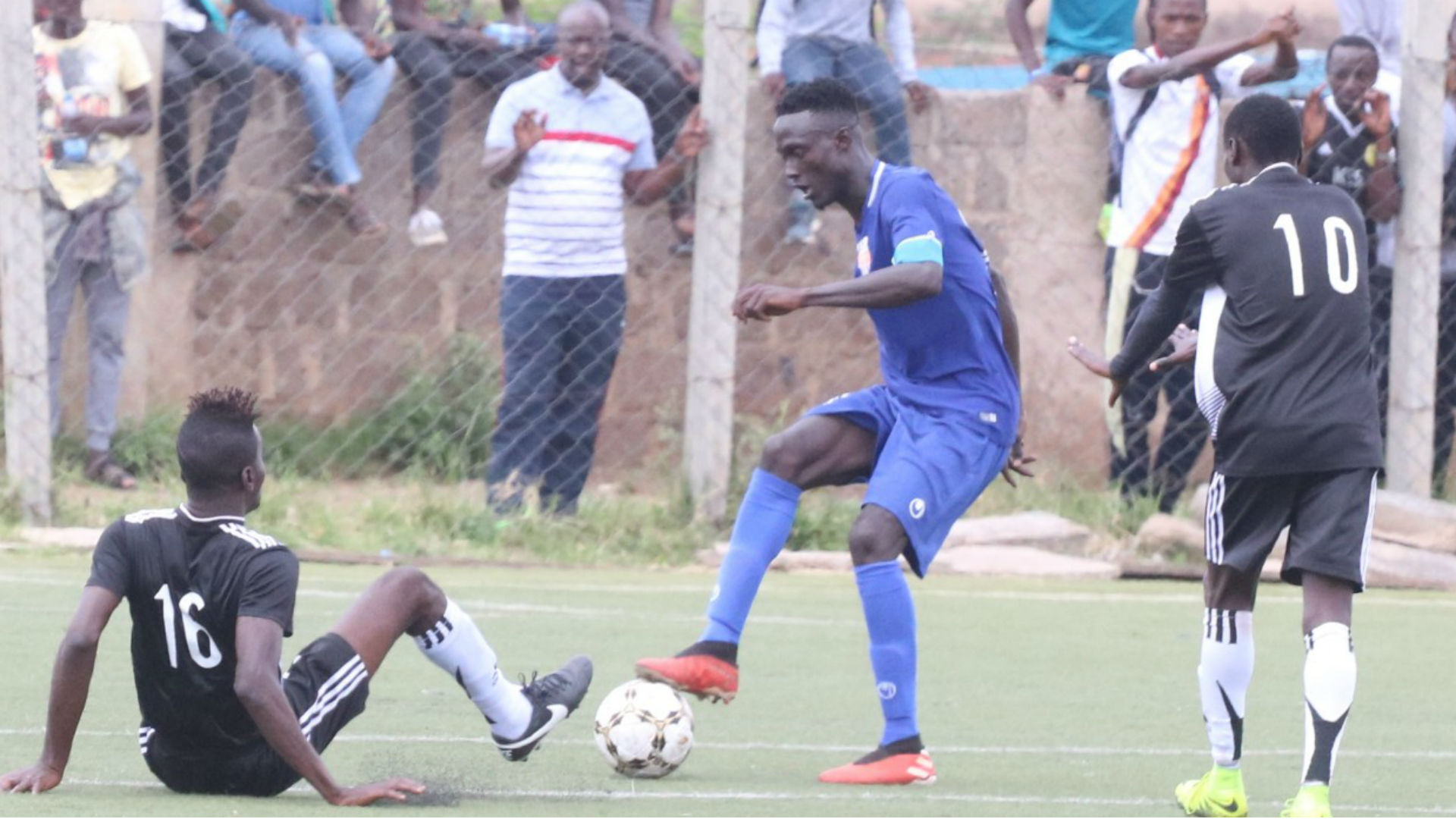 Gambian striker Ebrima Sanneh of Nairobi City Stars.
