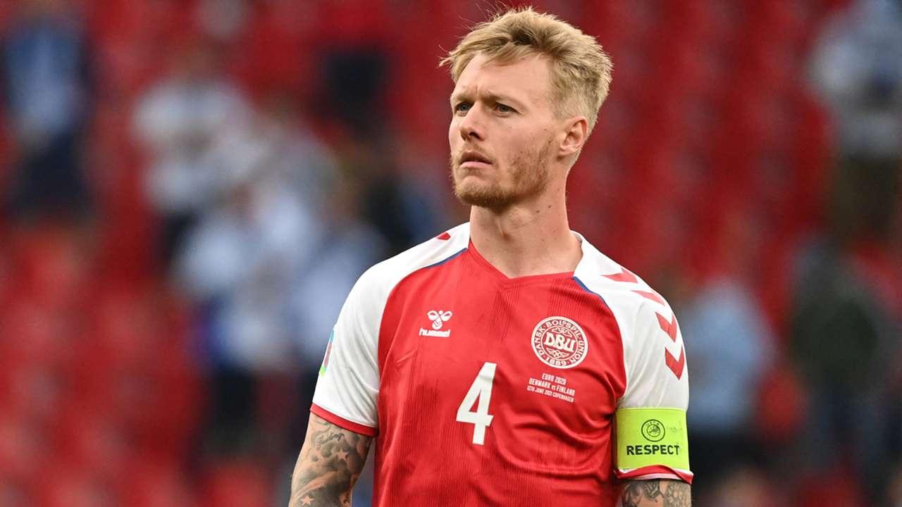 Simon Kjaer Denmark Finland Euro 2020