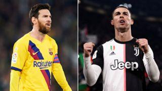 Lionel Messi/Cristiano Ronaldo split 2019-20