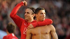 Dimitar Berbatov Cristiano Ronaldo Manchester United 25042009