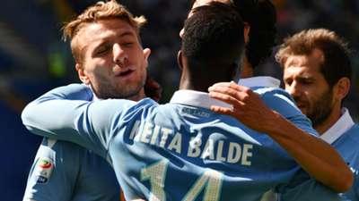 Immobile Keita Balde Lazio Palermo Serie A