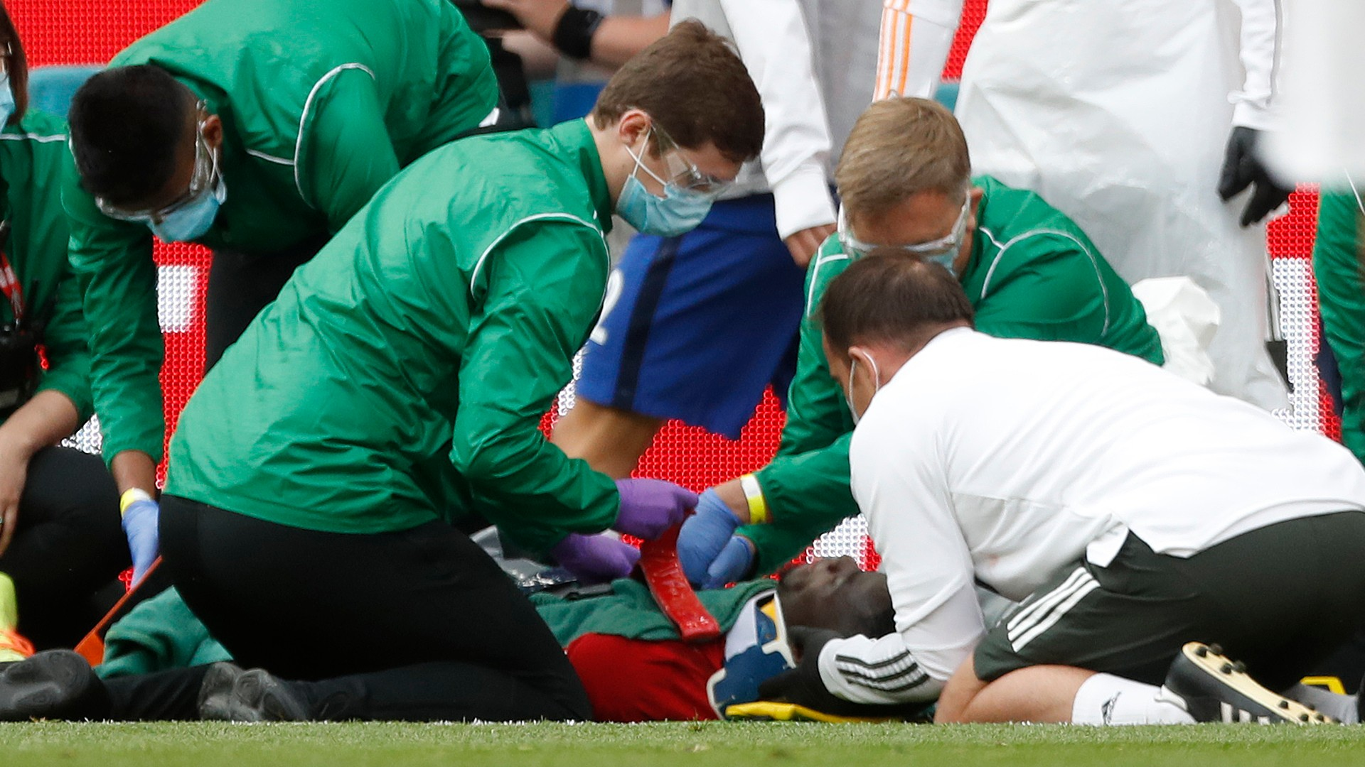 'Just a scare' - Bailly assures Man Utd supporters following head collision at Wembley