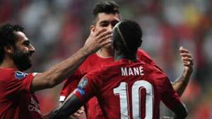 Mane feels 'lucky' to play with Salah & Firmino as fearsome trio lead Liverpool's title bid