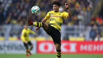 Jadon Sancho Borussia Dortmund 27012018