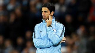 Mikel Arteta Manchester City Lyon Champions League 2018-19