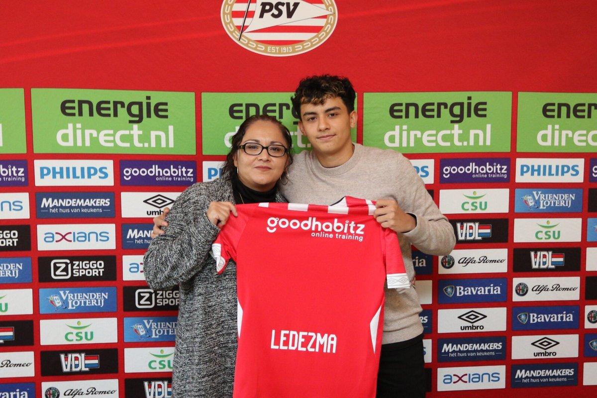 Richard Ledezma PSV U19
