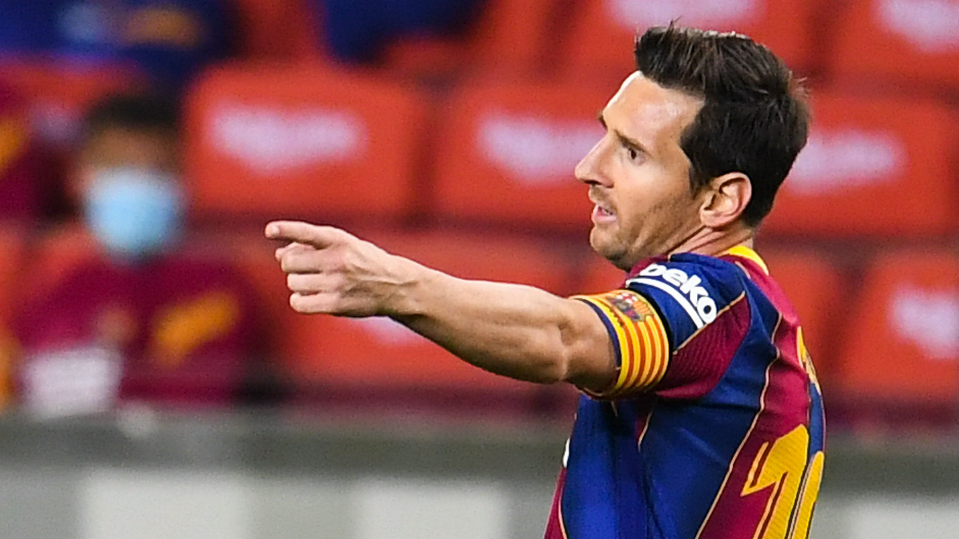 Barcelona star Messi becomes first player to score in 16 ...