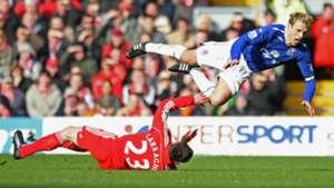 Jamie Carragher Phil Neville Liverpool Everton