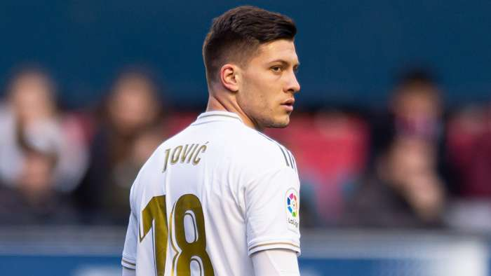 Luka Jovic Real Madrid 2020