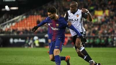 Andre Gomes Kondogbia Valencia Barcelona Copa del Rey