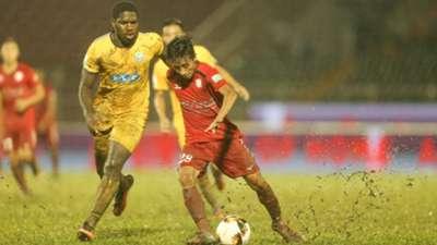 CLB TP.HCM FLC Thanh Hoá Vòng 25 V.League 2018