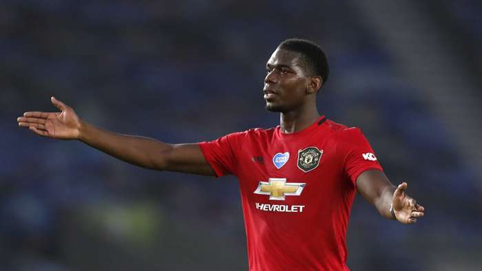Paul Pogba Man Utd 2019-20