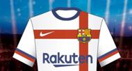 Barcelona 2020 away kit