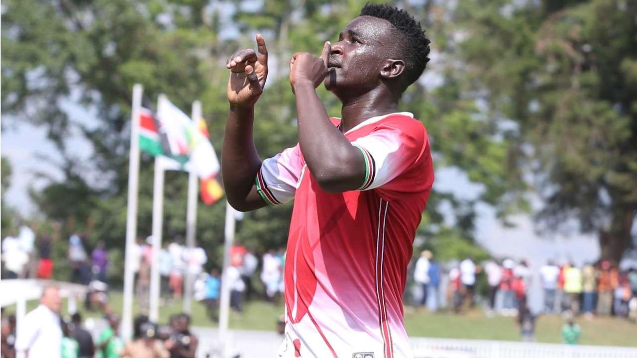 Harambee Stars and AFC Leopards midfielder Duncan Otieno.