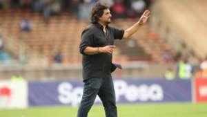Rodolfo Zapata AFC Leopards coach.