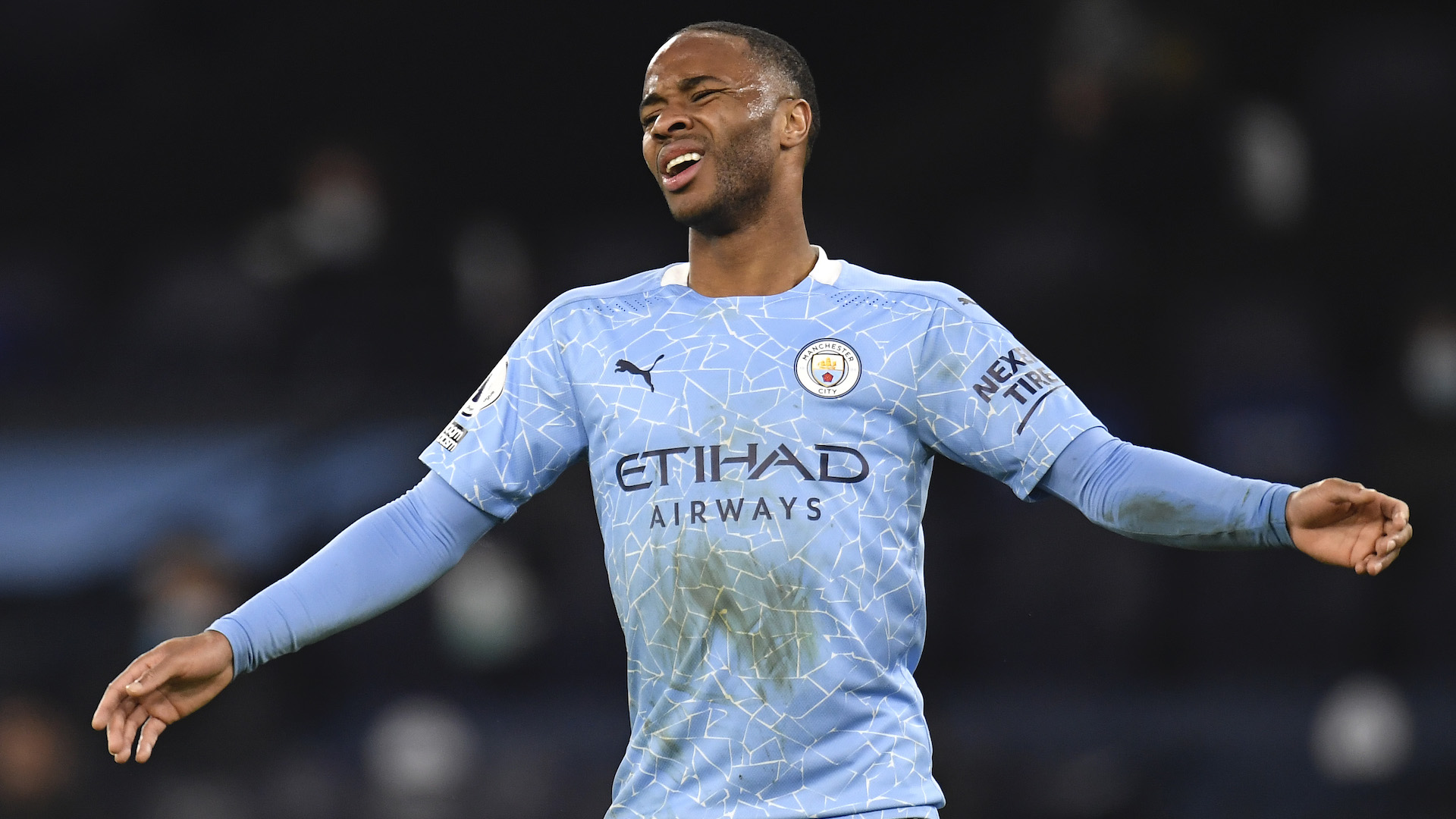 Sterling maintains Guardiola's confidence despite not starting Man City