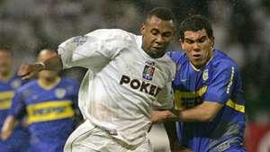 Jhon Viáfara Once Caldas Boca Libertadores 2004