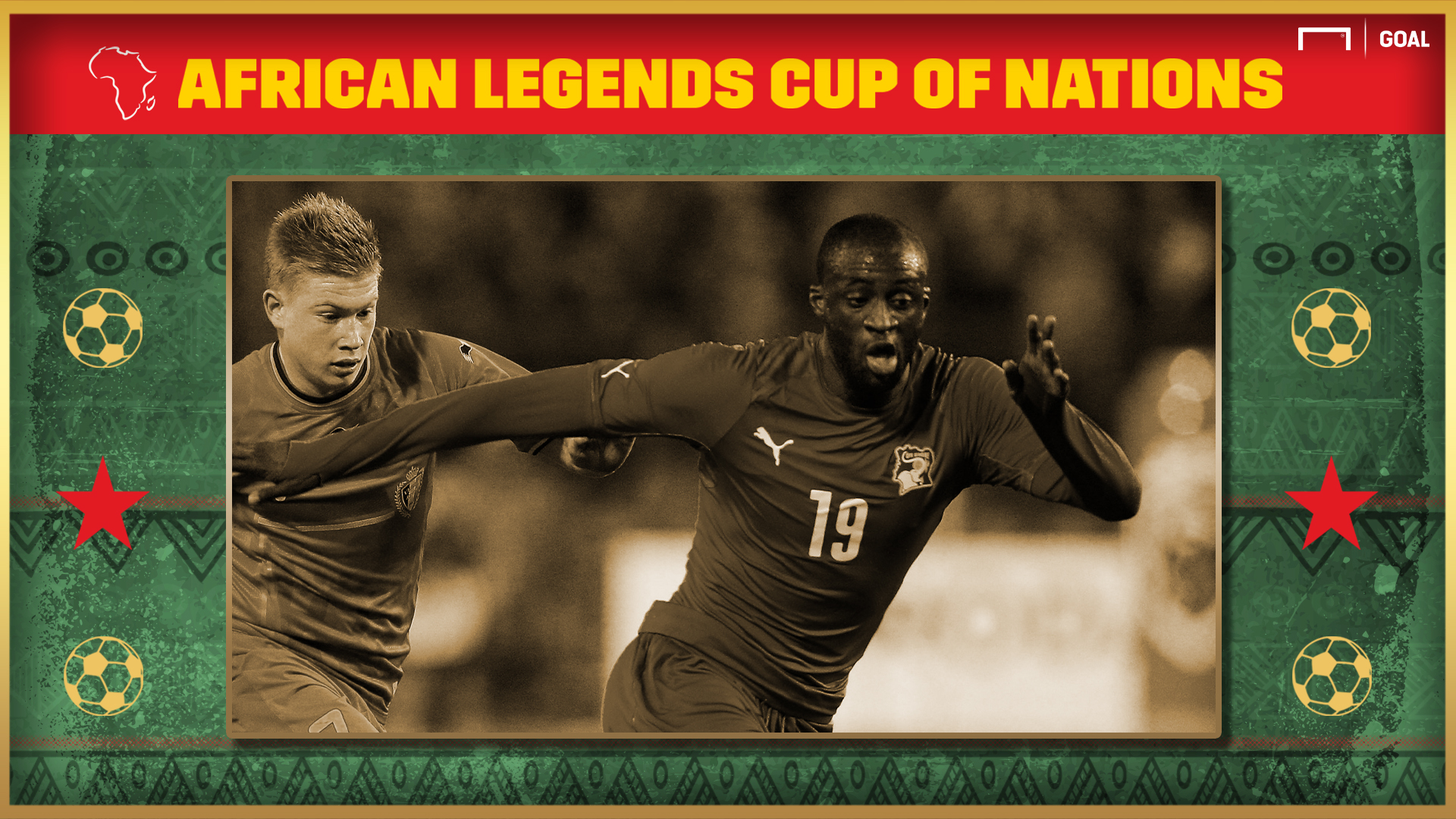 African Legends Cup of Nations: Is Eto'o vs Yaya too close to call?