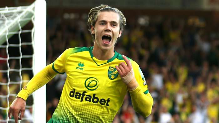 Todd Cantwell Norwich City 2019-20