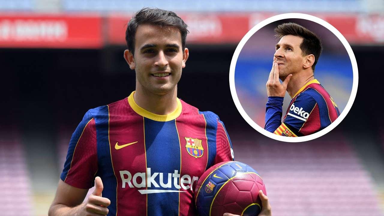 Eric Garcia Lionel Messi