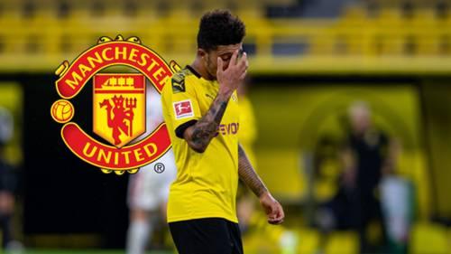 Jadon Sancho Borussia Dortmund Manchester United GFX