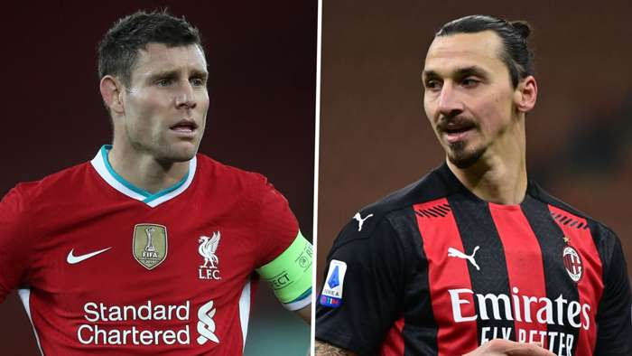 James Milner Zlatan Ibrahimovic