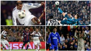 Los mejores goles de la Champions