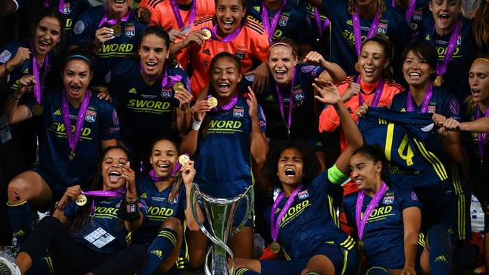 Lyon Women's Champions League final win