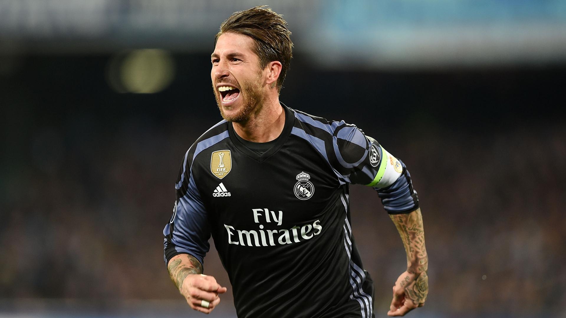 Sergio Ramos Napoli Real Madrid