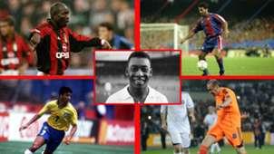 Weah, Romario, Pelé, Bebeto y Erdogan