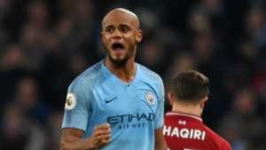 Vincent Kompany Manchester City 2018-19